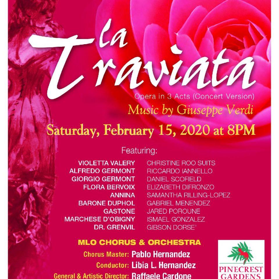 La Traviata 20 Pinecrest Names
